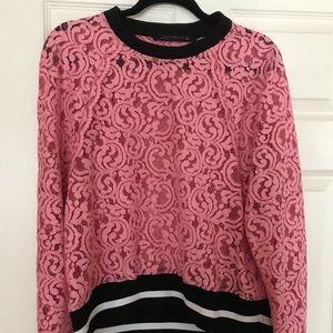 Zara lace pullover